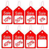 Sale tag Royalty Free Stock Images