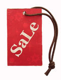 Sale tag. With snowflakes and stars stock photos