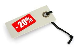 Sale tag #2 Royalty Free Stock Photos