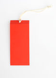 Sale tag. Isolated on pure white background Stock Photography