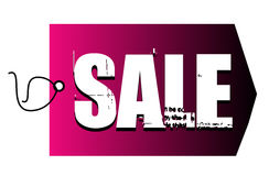 Sale logo on price tag Royalty Free Stock Photography