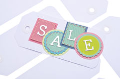 Sale Tag Background Royalty Free Stock Image