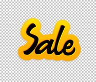 Sale. Tag, can be used for design, during discounts Royalty Free Stock Image