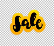 Sale. Tag, can be used for design, during discounts Royalty Free Stock Photo
