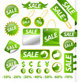 Sale tag collection Stock Photo