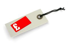 Sale tag with copy space Royalty Free Stock Photo