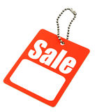 Sale tag with copy space Stock Photo