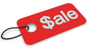 Sale tag Royalty Free Stock Photo