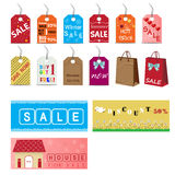Sale tag Stock Photos
