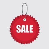 Sale Tag Hang Stock Photo