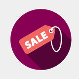 SALE tag icon Royalty Free Stock Photography