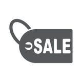 SALE tag icon, vector illustration. Flat design style Stock Photo