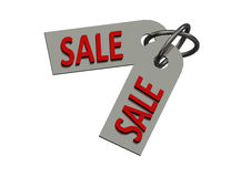 Sale tag illustration - consumerism concept Royalty Free Stock Images