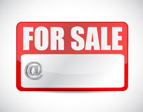 For sale tag illustration design Royalty Free Stock Images