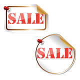 Sale tag,  illutrsation Stock Photography