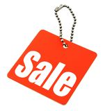 Sale tag isolated Royalty Free Stock Photography