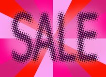 Sale tag label background Stock Images