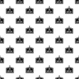 Sale tag 50 percent off pattern, simple style Royalty Free Stock Images