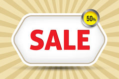 Sale tag promotion Stock Photography