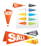 Sale tag sticker. Colorful label Royalty Free Stock Photography