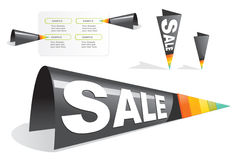 Sale tag sticker Stock Images