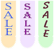 Sale tag royalty free illustration