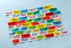 Sale  tagcloud Royalty Free Stock Photo