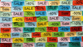 Sale  tagcloud Stock Image
