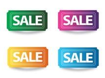 Sale tags. Sale illustration Stock Images