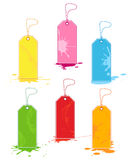 Sale Tags. Colorful vector sale tags set royalty free illustration