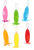 Sale Tags. Colorful vector sale tags set stock illustration