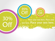 SALE TAGS. Sale Tag for all your advertising design, vector Stock Image