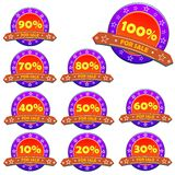 Sale tags Royalty Free Stock Photo