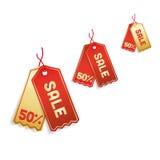 Sale tags vector illustration
