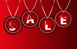 Sale Tags background Stock Image
