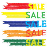 Sale tags. Banners vector set. Shopping. Stock Photo
