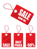 Sale tags collection Stock Photos