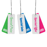 Sale Tags Collection Royalty Free Stock Images