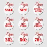 Sale tags Stock Photos