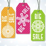 Sale tags design for price. Royalty Free Stock Photography