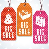Sale tags design for price. Royalty Free Stock Images