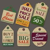 Sale Tags Design Stock Photo