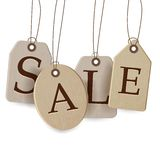 Sale Tags Design Stock Photos
