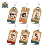 Sale Tags Design Royalty Free Stock Photo