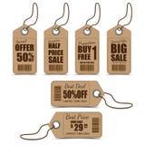 Sale Tags Design Stock Image