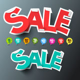 Sale Tags and Discount Labels Royalty Free Stock Photography