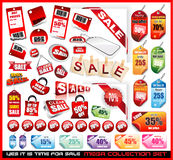 Sale Tags Mega Collection Set Royalty Free Stock Photos