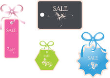Sale tags. Vector Illustration. Discount card to store print advertising products, vector illustration vector illustration