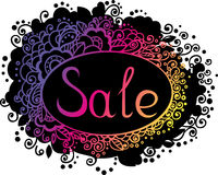Sale template Stock Images