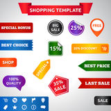 Sale template Royalty Free Stock Photography